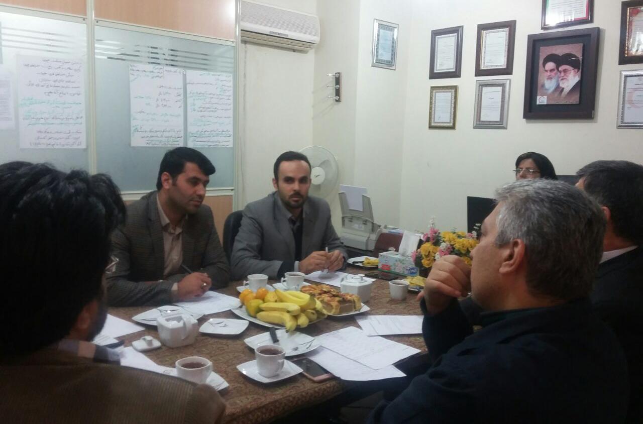 دومین جلسه هیئت مدیره موسسه خیریه مهرورزان هلال گلستان- کمک به بیماران نیازمند